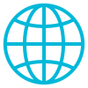 Icon of a globe, representing the Web